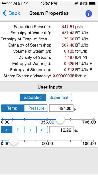 HVAC Toolkit iPhone Screenshot 3