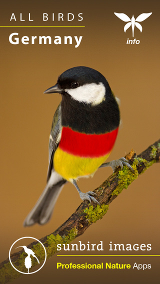 All Birds Germany - A Complete Field Guide of all the Birds Recorded in Germany