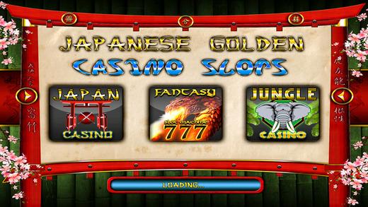 Japanese Golden casino slots – free slot machine for BIG WIN