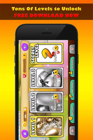 Golden Easter BINGO - Play the Easter Holiday Game of Chance with Real Las Vegas Casino Odds for FREE ! screenshot 1