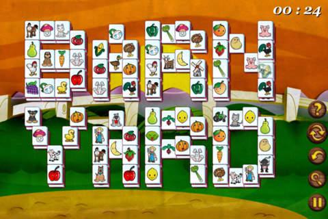 Screenshot 2 Barnyard Mahjong Free