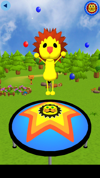 Animal Trampoline - Funny educational App for Baby Infant