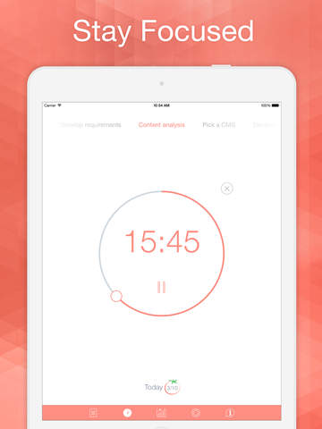 Pomodoro Time: Focus Timer & Goal Tracker for work and study based on Pomodoro Technique ™