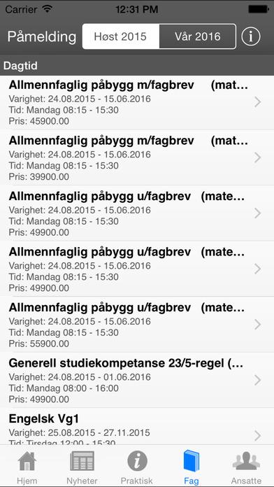 Akademiet privatist iPhone Screenshot 4