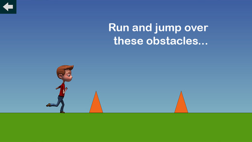 Easy Jumping Game - run and jump over obstacles and feel great finishing the levels
