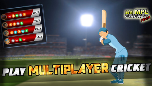 MPL Cricket Fever 2014