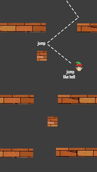 Jumpy Elves - Help Santa Make it