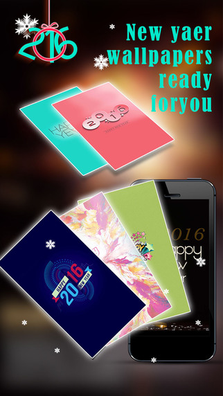 New Year Wallpapers Maker Pro - Retina Photo Booth for Holiday Seasons Screen Decoration