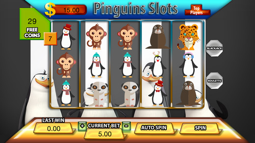 Pinguins Slots - FREE Slot Game Vegas Casino