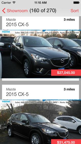 Schwartz Mazda iPhone Screenshot 2