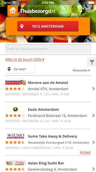 Thuisbezorgd.nl - Pizza Pasta Sushi Kebab and More