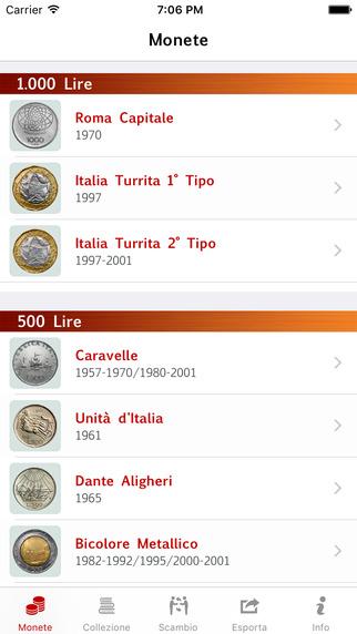 Lira Monete Repubblica - Lite
