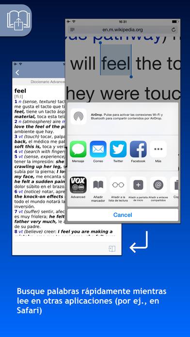 VOX Spanish <-> English Dictionary iPhone Screenshot 3