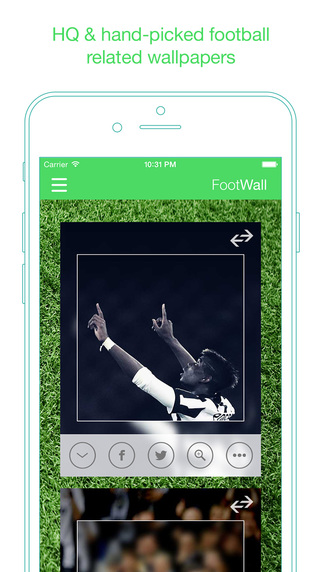 FootWall - HQ Hand-picked football wallpapers