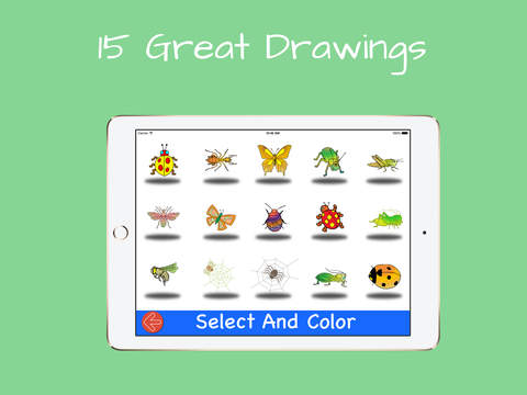 Drawing with Insects