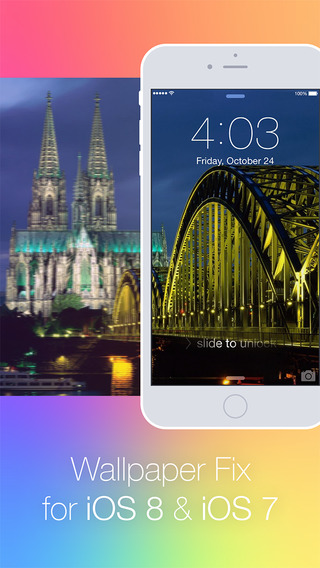 Wallpaper Fix for iOS 8 7 - Rotate Position Scale Zoom Rearrange Wallpapers and Backgrounds