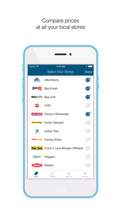 Screenshots of Favado Grocery Sales for iPhone