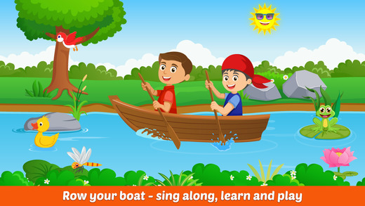 Row Your Boat- Sing Along and Playtime Activity Center For Kids