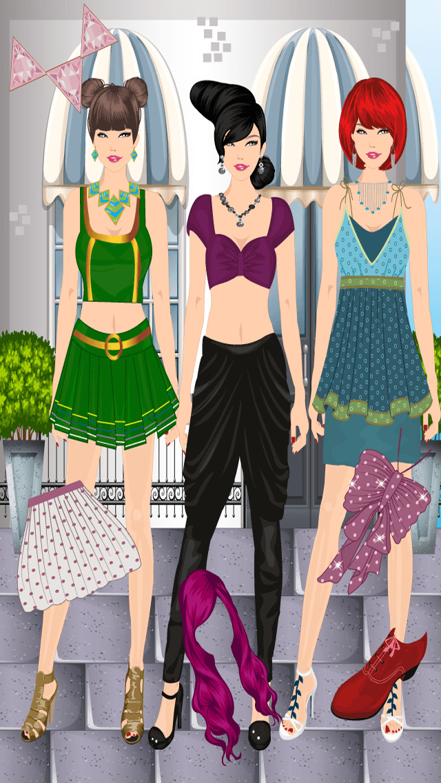 Street Fashion Dress Up Ios