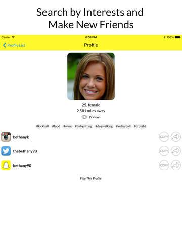 Find kik messenger users