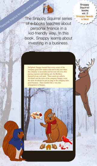 Snappy Needs a Nest - Snappy Squirrel e-book volume 2 - Learn about personal finance saving investin