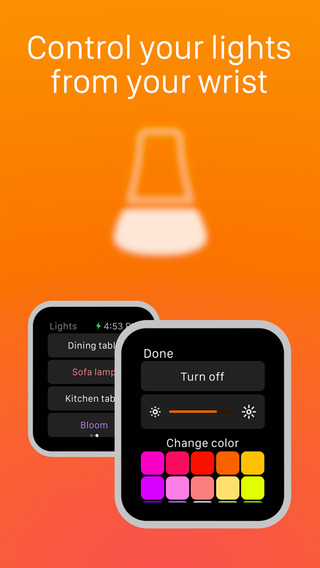 Hue for Apple Watch