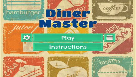 Diner Master - PRO - Slide Rows And Match Fast Food Plates Puzzle Game