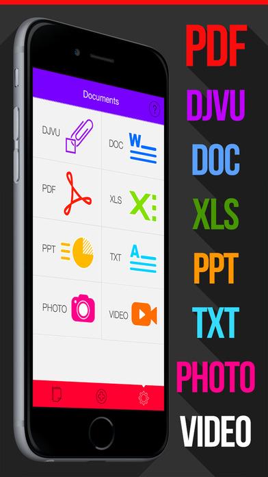 download Document & PDF Reader,Djvu,Office apps 4