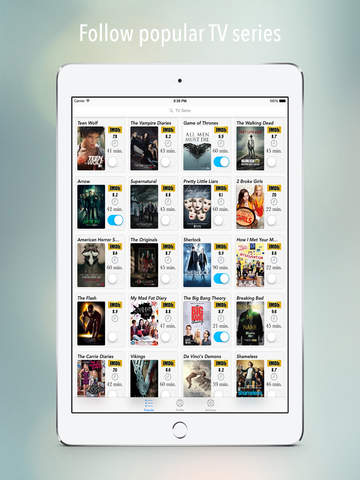 TV Serie Tracker for iPad