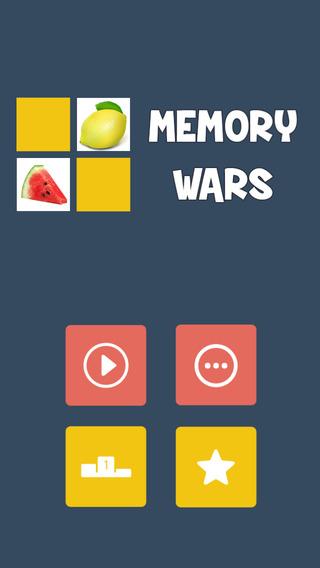 Memory Wars - Fruits
