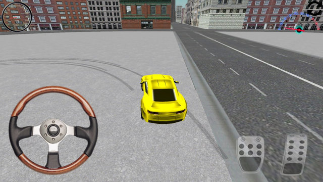 Yellow Car Simulator