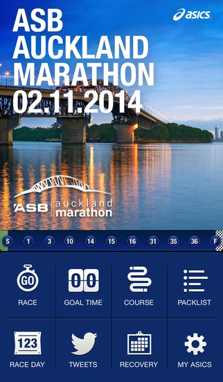 ASB Auckland Marathon App by ASICS