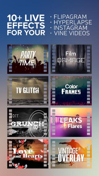EffectsChimp-PicMonkey VHS Slideshow Video Maker Movie Studio for Vine and Youtube