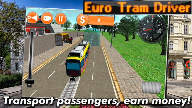 Euro Tram Driver Simulator 3D Screenshots