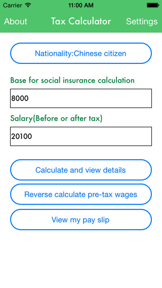 China Tax Calculator - Your pay slip social insurance