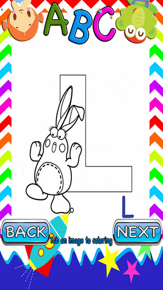 ABCs Kids Coloring for Dibo Version
