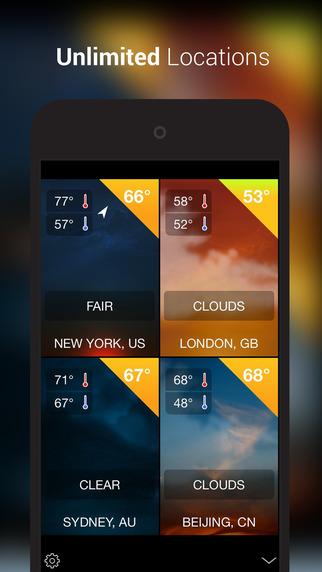 iWeather Pro - 天气预报应用[iOS]丨反斗限免