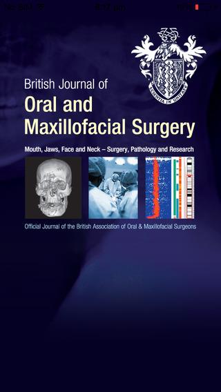 British Journal of Oral and Maxillofacial Surgery