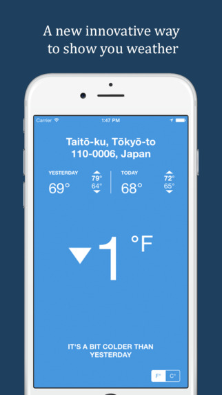 HotOrCold Lite - Relative Weather