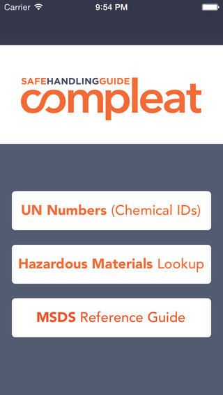 Compleat Worker Safety Hazardous Material Reference Guide