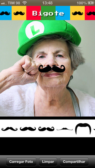 Bigote - Mustache your face Tons of moustaches