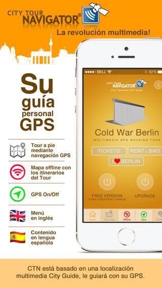 Berlín guía Guerra fría visita guiada paseo GPS