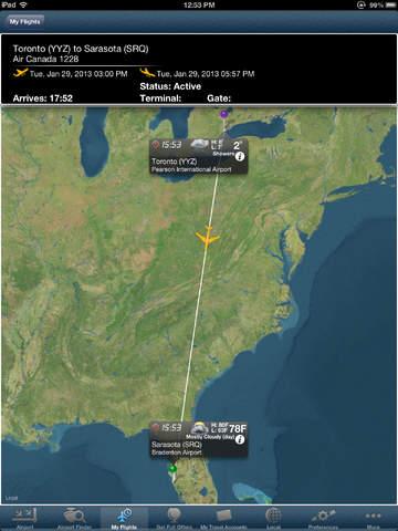 Toronto Airport +Flight Tracker HD