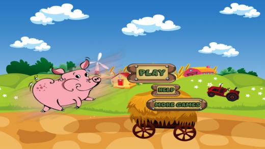 Piggie Ham Run Free - A Pig's Bacon Jump Rush