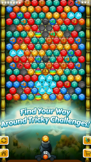 Bubble Shooter Wars Free - time travel adventure mania