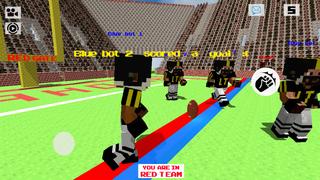Block American Football 3D - Touchdown Multiplayer Sport Mine Mini Game screenshot 5