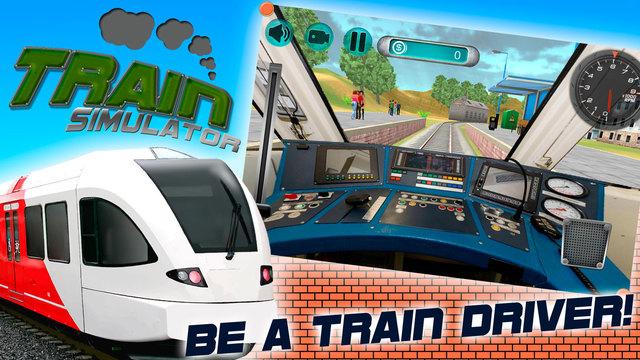 Train Driver Simulator 3D Full