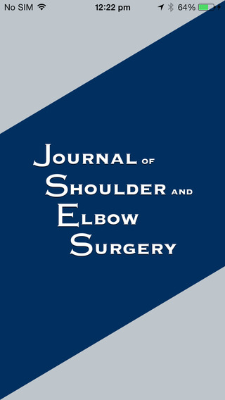 Journal of Shoulder and Elbow Surgery JSES