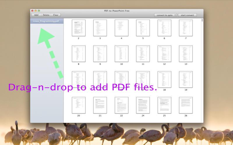 PDF-to-PowerPoint-Free Screenshot - 1