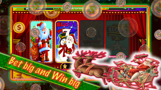 Merry Christmas Slots: Happy Holiday-Spin Machines Slots Game